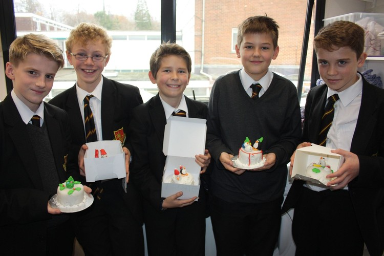Year 7 Christmas Cakes
