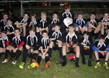 TWGSB U14 Rugby team win the Kent Shield
