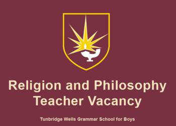 Religion and Philosophy Teacher Vacancy