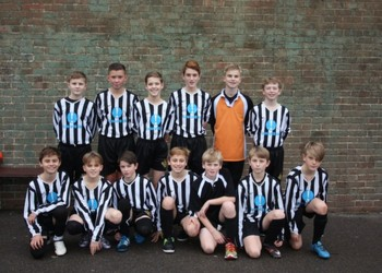 Year 7 Football Team are through to the Semi-Final of the Kent Cup