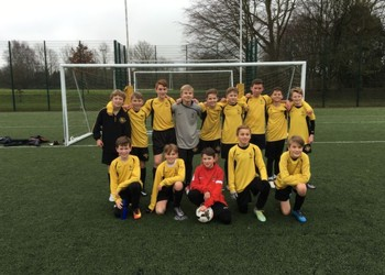 Year 7 Football team to play in a Kent Cup Final