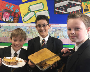 A Pilgrim's Pie to celebrate Chaucer's Canterbury Tales
