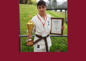 Year 9 student excels at Kudo