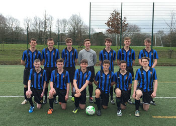 U16 Football Team are Kent Cup Winners 3-0