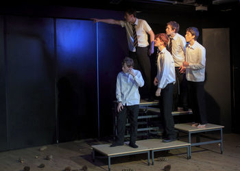 Is your son considering Theatre Studies GCSE?
