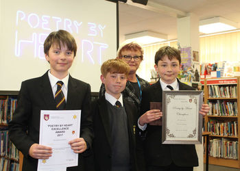 Poetry by Heart Competition