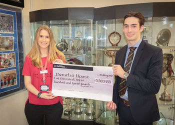 TWGSB Sixth Form raise over £5,000 for Demelza House Hospice