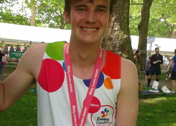 Year 11 student successfully completes 10km run for charity