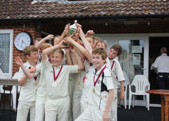 Year 7s win the Kent Cup Final