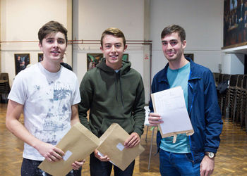 Congratulations to our A Level Students