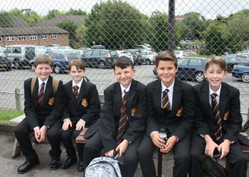 Back to School: Year 7s First Day of Secondary School