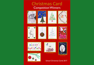 Christmas card competition 2017 artwork
