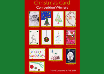 Winners of the Christmas Card Competition 2017