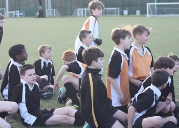 Fairtrade Fortnight inter-school football