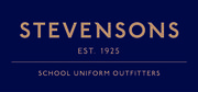 Stevensons School Uniform Gold out Blue