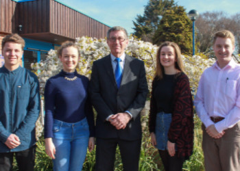 Head Boy and Head Girl Appointed
