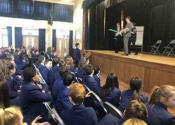Year 7 Author Visit