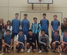 Sixth Form Basketball Team
