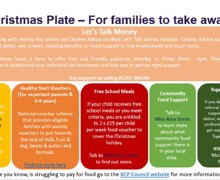 BCP Christmas Plate for Families