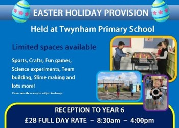 Two Rivers Childcare - Easter Holiday Club