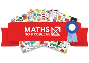 Maths no problem rosette