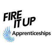 Fire it up apprenticeships logo