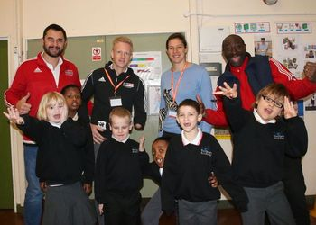 Sky Sports Athlete Mentors drop in to Venturers'