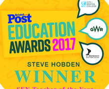 Bristol education awards winner