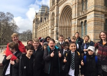 Secondary discover London's Natural History Museum