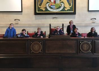 Student Parliament Visit Bristol City Hall