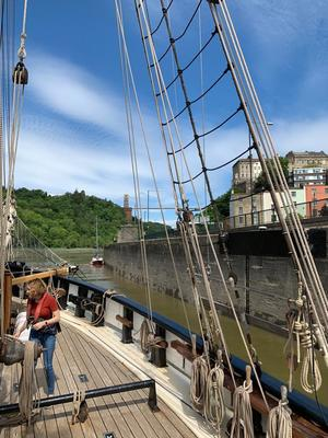 Day 1 leaving bristol harbour img 20190525 wa0012