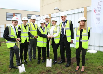 Construction begins on new school buildings