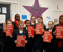 Cgs racism red card
