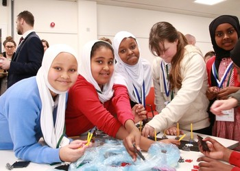 Exciting cross trust STEM event for Year 6 girls
