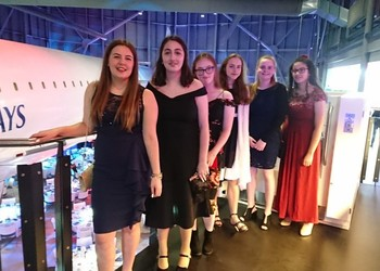 Students attend Concorde's 50th Anniversary event