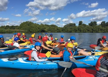 Year 12 Team Build at Dinton Pastures