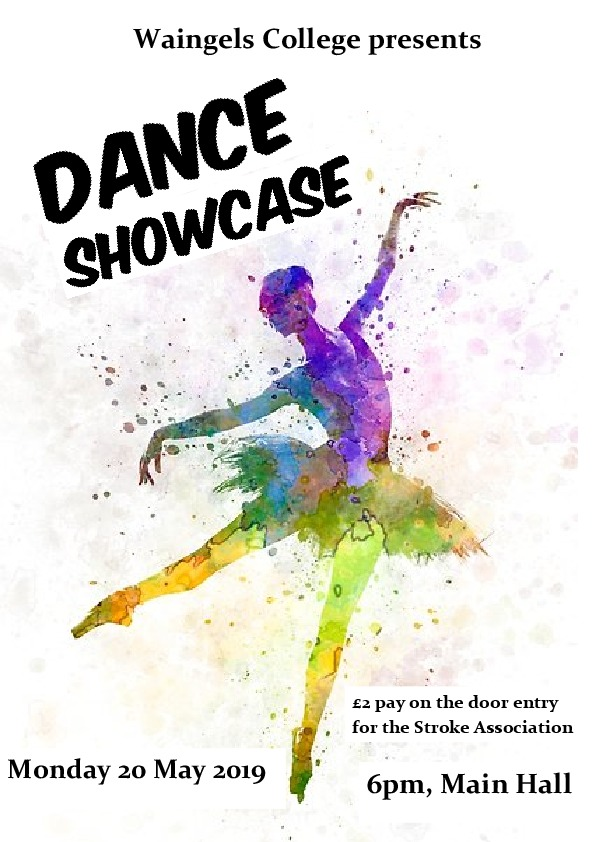 Dance showcase poster