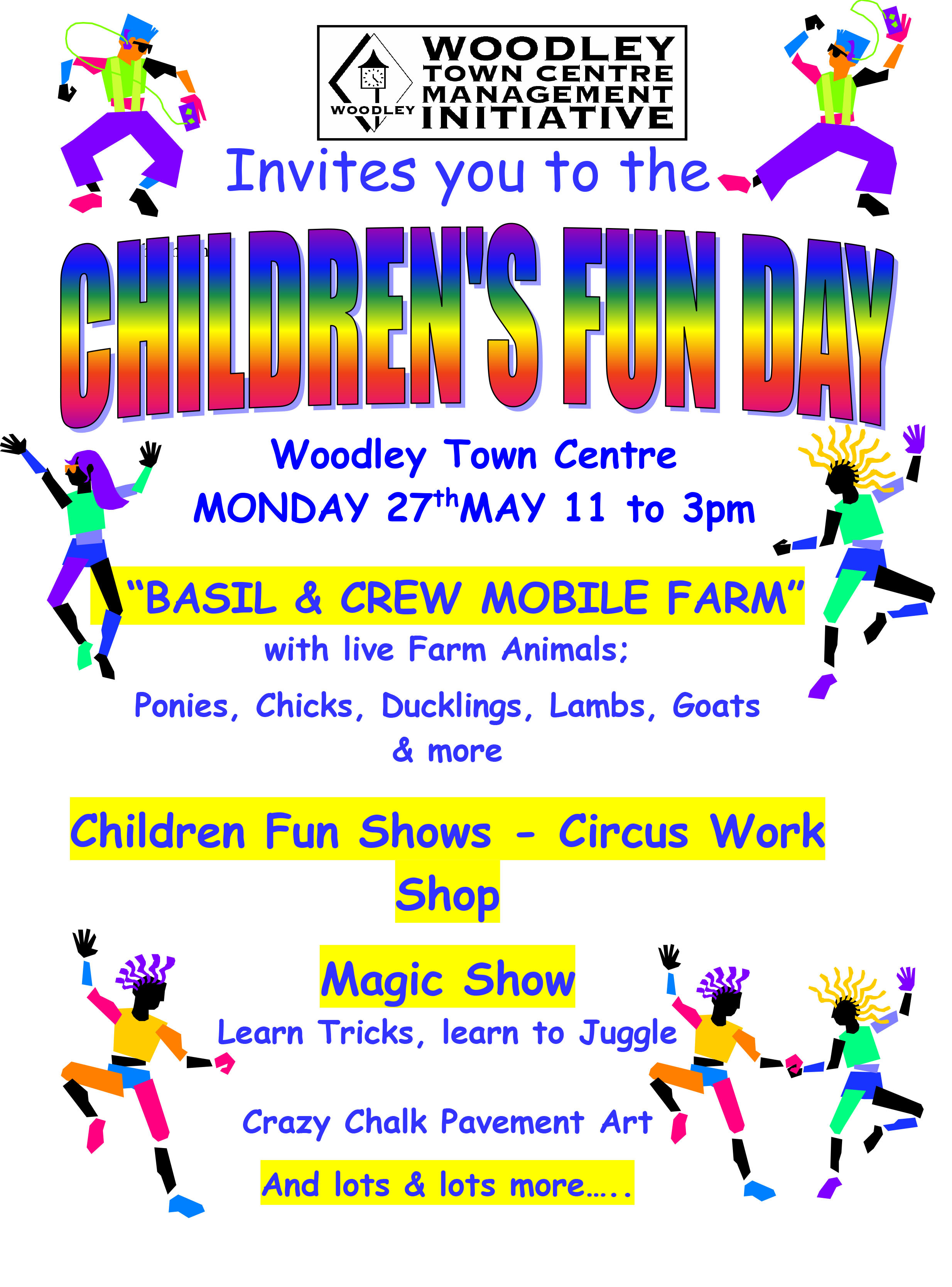 Kids Fun Day Poster 2019