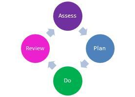 Assess plan do review cycle