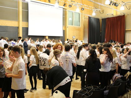 Year 11 Shirt Signing- May 2017