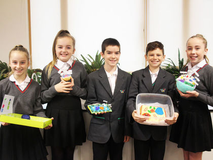 Year 7 Cell Models- November 2017