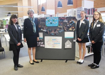 Waingels STEM Girls Receive Flying Visit from The Prime Minister