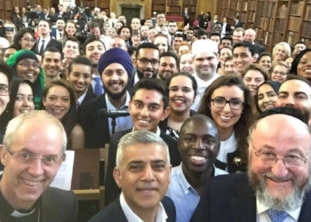 Year 12 meet Mayor of London at Interfaith Iftar