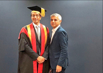 WA Chair of Governors inaugurated as Chancellor of the University of East London