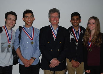 WA Sixth Formers on winning team at UK Space Design Competition!