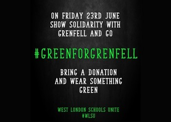 Over £1700 raised so far for those affected by Grenfell fire