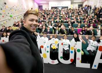 BBC launches Children in Need campaign at WA with X-Factor winner Matt Terry!