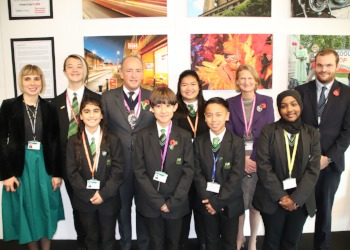 Lord Mayor Visits Westminster Academy