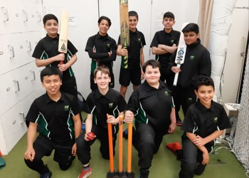 Cricket team crowned champion at Lord's