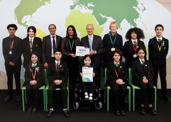 British Council International School Award success for Westminster Academy